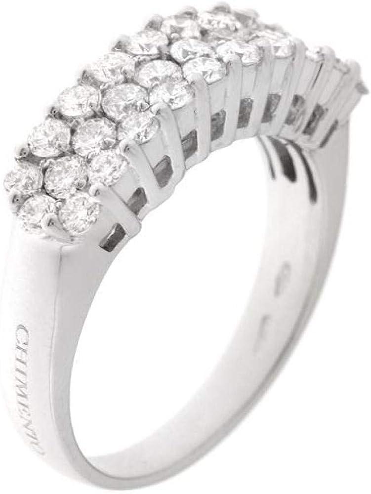 chimento,anello per donna,fedina oro bianco 18 kt(6,2 gr) con diamanti bianchi taglio brillante 1,04 ct 1a06153bb5140_0