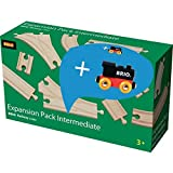 Brio 33804 Mittleres Schienensortiment Promo Pack Railway-RW Tracks -