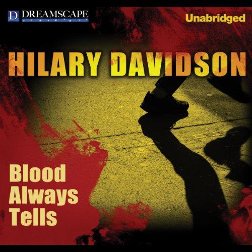 Blood Always Tells audiobook cover art