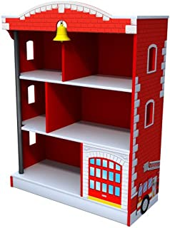 کتابخانه آتش نشانی Kidkraft