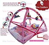 WEE TODDLERS Cotton Mosquito net/Play Gym/Baby Mattress/Baby Bedding Set/Baby Activity Centre