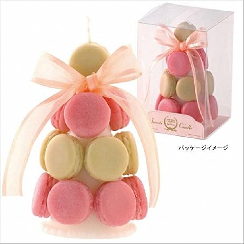 天井ただ適応的カメヤマキャンドル(kameyama candle) ハッピーマカロンタワー 「 キャラメル 」6個セット