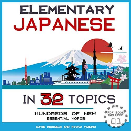 Elementary Japanese in 32 Topics Titelbild