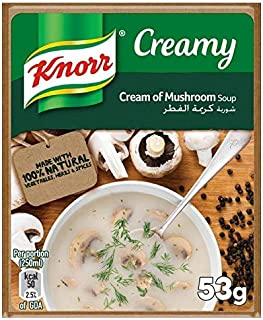 Knorr Packet Soup Cream of Mushroom - 53gm (Pack of 12)