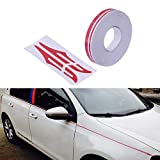 PME 12mm 0.5' Pinstripe Pinstriping Pin Stripe Decals Vinyl Tape Stickers for Cars (Red) Sticker