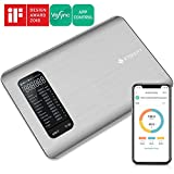 Etekcity Smart Nutrition Food Scale, Digital Kitchen Grams and Ounces for Weight Loss, Baking, Cooking, Meal Prep & Keto Diet, Large, 304 Grade Stainless Steel