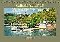 Kulturlandschaft Oberes Mittelrheintal I (Tischkalender 2022 DIN A5 quer): Das Unesco Welterbe Oberes Mittelrheintal von Bingen bis Boppard (Teil I) (Monatskalender, 14 Seiten )