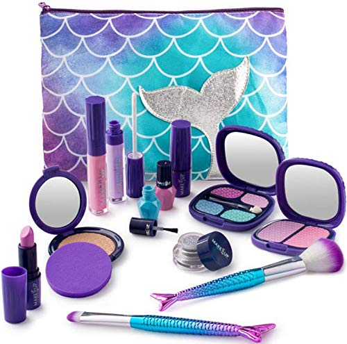 Make it Up Mermaid Collection Realistic Pretend Makeup Set (NOT Real Makeup)