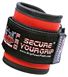 Grip Power Pads Best Ankle Straps for Cable Machines Double D-Ring Adjustable Neoprene Premium Cuffs...