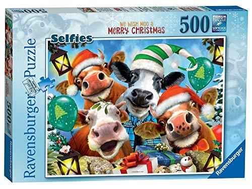 Ravensburger Puzzle Buon Natale Puzzle 500 pz, Puzzle per Adulti