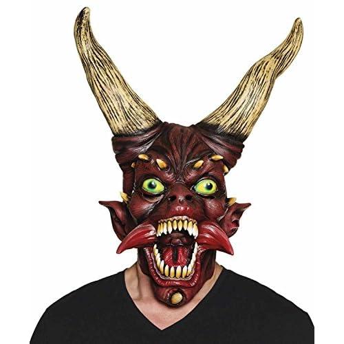 Maschera Diavolo Devil master in lattice
