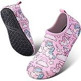 SEEKWAY Toddler Kids Water Shoes Boys Girls Quick Dry Lightweight Barefoot Anti Slip Aqua Socks for Outdoor Sports Summer Swim Beach Pool Aquatics (10.5-12 Little Kid)