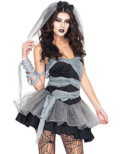 EOZY Halloween Déguisement Femme Vampire Fantôme Fantaisie Cosplay Soirée