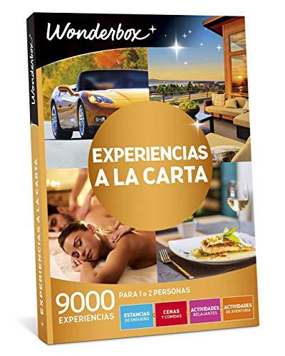 WONDERBOX para mamá - Regalo Original -EXPERIENCIAS A LA Carta- 9.000 experiencias para Dos Personas