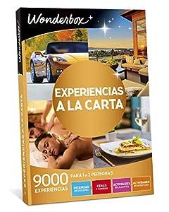 WONDERBOX - Regalo Original -EXPERIENCIAS A LA Carta- 9.000 experiencias para Dos Personas