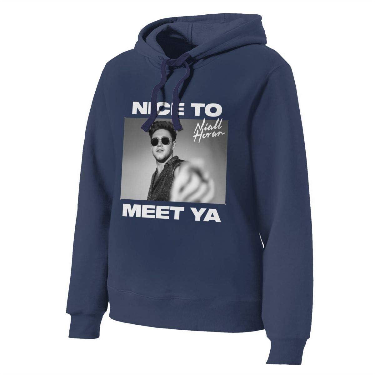 Standard Ranking TOP4 35% OFF Price Niall Horan Nice to Sweatshirts Meet Women's Ya H