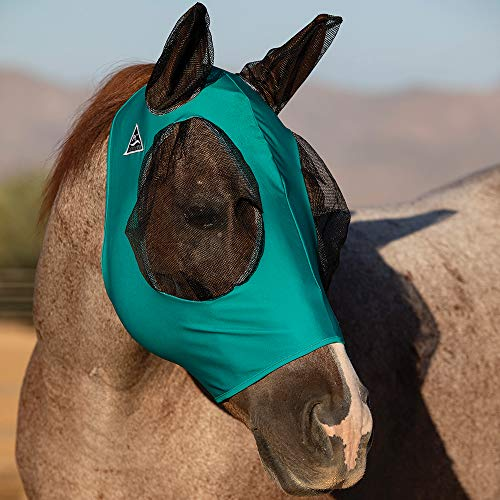 Professional`S Choice Comfort Fit Fly Mask Teal Horse