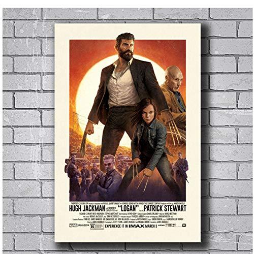Dubdubdposter Und Drucke Logan 2017 Film Hugh Jackman HotArt Poster Leinwand Malerei Wohnkultur 20X28 In No Frame