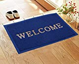 The product uses natural durable Pvc soft Plastics front and back; its texture makes it one of the best options for outdoor mats capturing dirt with hour long utility Keeps dirt and mud out: this door mat is made of PVC Soft plastics so it is waterpr...