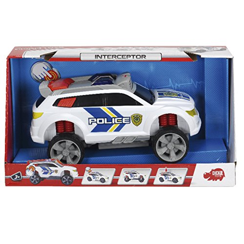 Dickie Toys - 203308355 - Véhicule de police - Intercepter