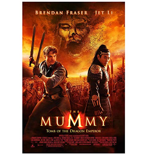 The Mummy 3 (2008) Brandon Fisher Movie Fashion Trend Hermoso hogar Art Decor Poster Wall Deco Gift Print on canvas -20x30 inch Sin marco