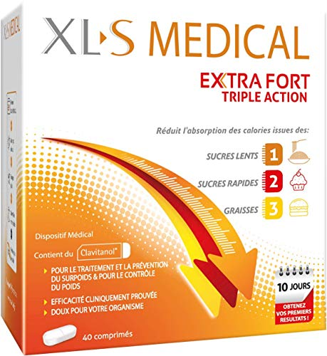 avis xls medical extra fort professionnel XL-S MEDICAL Extra Fort – Perte de poids efficace * – Réduit l'absorption…