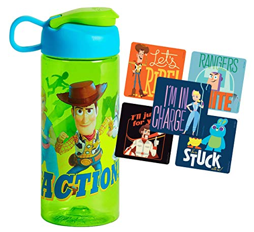 Toy Story 4 Kids 16oz Sullivan Water Bottle with Snap Top Lid BPA Free…