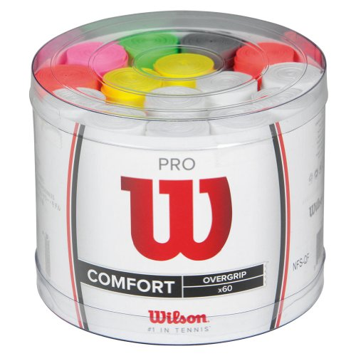 Wilson Pro Overgrip 60 pack Tennis Grip - Assorted, 60 pack ,PS-39
