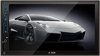 """Central Multimídia MP5 2Din 7"""" USB SD AUX BT Espelhamento Android e iOS H-Tech - HT-3120X"""
