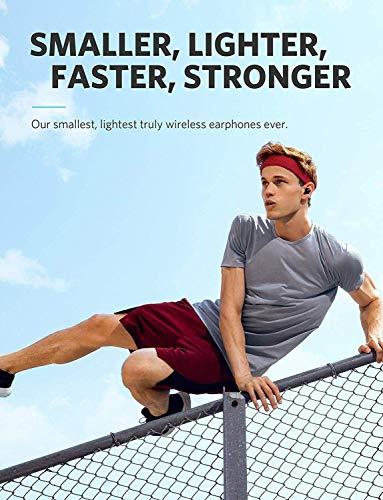 Wireless Earbuds, Soundcore Liberty Lite Bluetooth 5.0 True Wireless Earbuds, Easy-Pair Sports Sweatproof Mini Bluetooth Headphones with Graphene-Enhanced Drivers, Stereo Calls (Renewed)