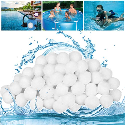 GothicBride Filter Balls Filterbälle für Pool, Schwimmbad, Filterpumpe, Aquarium Sandfilter. (1400g)