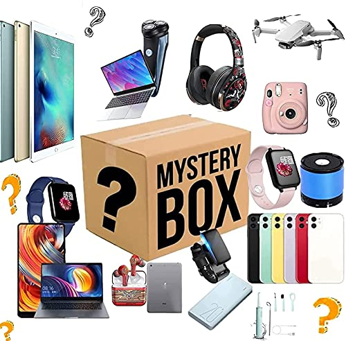Mystery Items for Electronic, Lucky Box,A Lucky Box for Surprise Gift,You Will Likely Get: Phones, Drone, Smart Watches, Bluetooth Earphone,Air Purifiers Etc - Everything is Possible