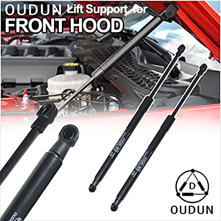Set of 4 Lift Support Struts Gas Spring Damper for Nissan Murano 2003-2007 Front Hood and Tailgate Hatch