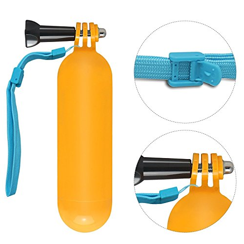 Floating Hand Grip for Gopro Hero Session Waterproof Action Camera with Floating Wrist Strap