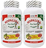 Nopalina Formula 240 Capsule (Omega 3-6-9, Flax Seed) (2 Pack)