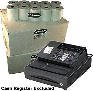 eposbits® marca 80rollos–4cajas para Casio 140CR 140CR caja registradora