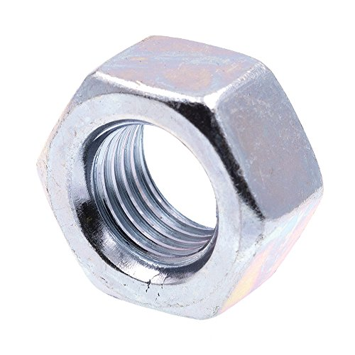 Prime-Line 9086656 Finished Hex Nuts, Grade 5, 7/16 in.-20, Grade 5 Zinc Plated Steel, 25-Pack