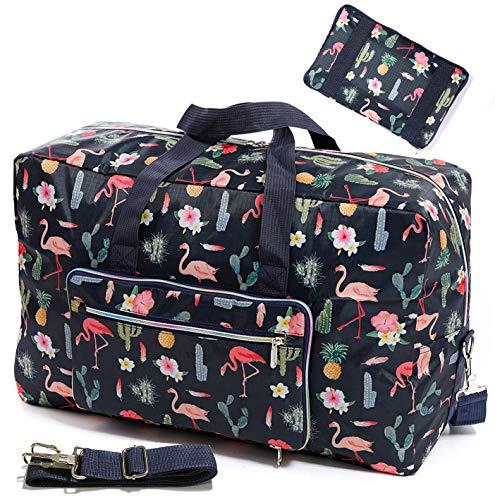 WFLB Large Foldable Travel Duffle Bag