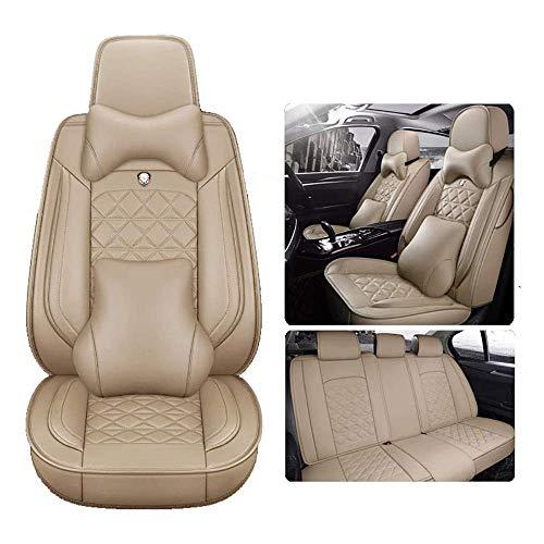 Asiento de coche cubiertas del asiento de ajuste automático de Interior del coche protector PU cubiertas del asiento de cuero de coche for Skoda, Fabia, Kodiaq, Octavia, Rápido, Roomster, Superb, Yeti