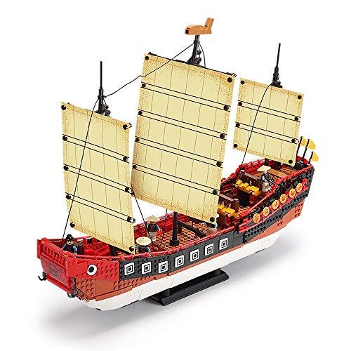 Bausteine City Creator Series Ziegel Im Chinesischen Stil Royal Dragon Boat Model Kit Bausteine diy Für Kinder Spielzeug Geschenke
