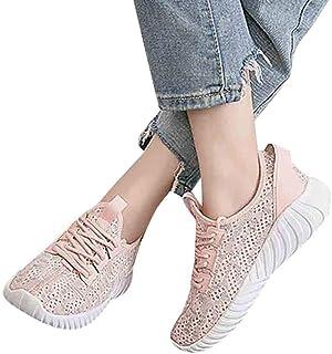 Memefood 2019 Zapato Deporte Mujer, Zapatillas De Malla Transpirable En Suelas Cómodas Sneaker Para Correr En Asfalto Fitn...