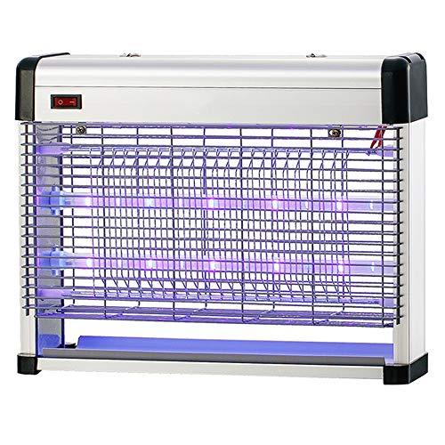 Muggenval | UV-LED Dubbele Lichtgolf Muggenmoordenaar | Mug, Insect, Fruitvliegval Kan Staan, Hangen (Size : A(39X29.5CM))