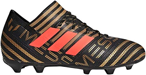 adidas Unisex-Kinder Nemeziz Messi 17.1 FG Fußballschuhe, Schwarz (Core Black/Solar Red/Tactile Gold Metallic), 35 EU