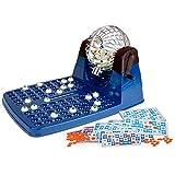 Chicos-Bingo Lotería automática XXXL con 72 cartones y 90 Bolas imborrables, 30 x 42 x 23 cm, Incluye fichas de Juego, (Fábrica de Juguetes 20905)
