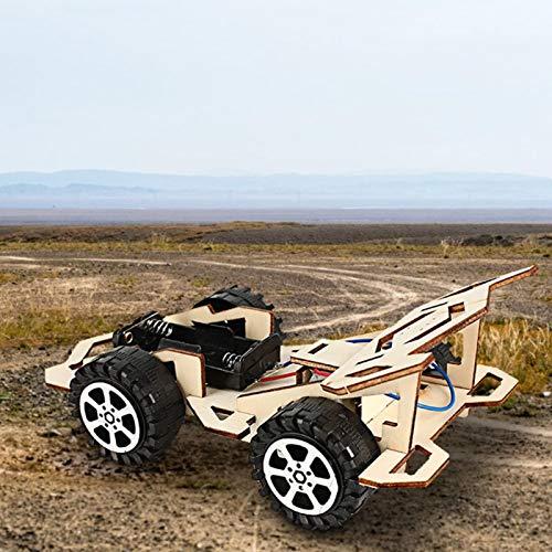 Emoshayoga DIY Racing Model Electric Jungen Mädchen Geschenke Kinder