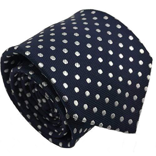 corbatas lunares de hombre azul marino corbatas estrecha de hombre seda caja de corbatas by Qobod