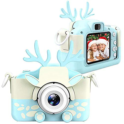 SCZZ Kids Camera for Boys Girls, HD 2.0 Inches Toddler Camera,3-9 Years Old Kids with Rechargeable Battery Birthday/Christmas/Best Gifts,Camera+16GB