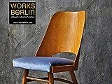 Esszimmerstuhl Wohnzimmerstuhl Dining Chair Designerstuhl echt vintage 50er Jahre restauriert worksberlin