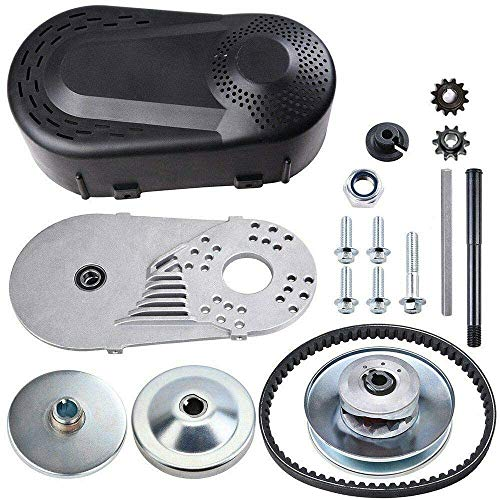 Torque Converter Go Kart Clutch Replacement Kit For Manco Comet TAV2 3/4' 10T #40/41 and 12T #35 Chain, Driver Pulley Replacement Set for 30 Series