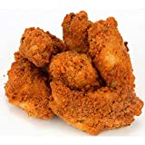 Tyson Red Label NAE Fully Cooked Breaded Jumbo Hot N Spicy Bone In Chicken Wings, 15 Pound -- 1 each.